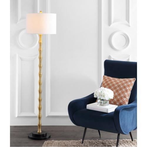 Kolten Floor Lamp - Antique Brass