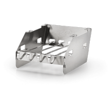 See Details - Side Burner Windshield - Small with Skewer Rack