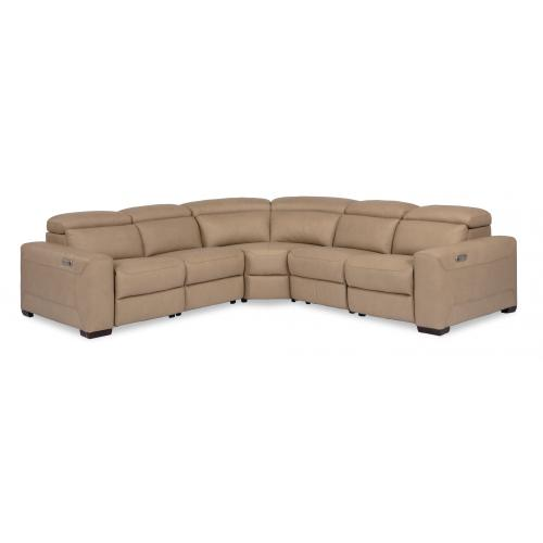 Lexon Power Reclining Sectional with Power Headrests