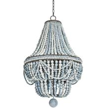 Malibu Chandelier (weathered Blue)