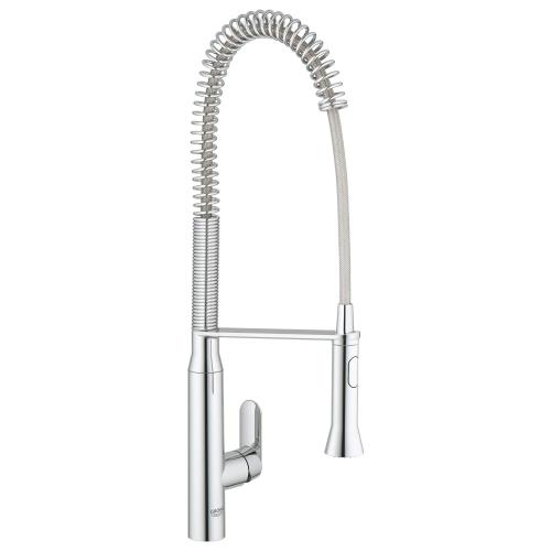 K7 Single-handle Semi-pro Dual Spray Kitchen Faucet 1.75 Gpm
