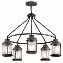 Ashland Bay 5 Light Chandelier Weathered Zinc