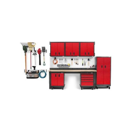 6' Wide 9-Outlet Workbench Powerstrip