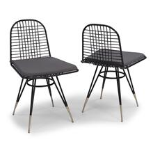 See Details - Du Juor Chair With Cushion (set of 2)