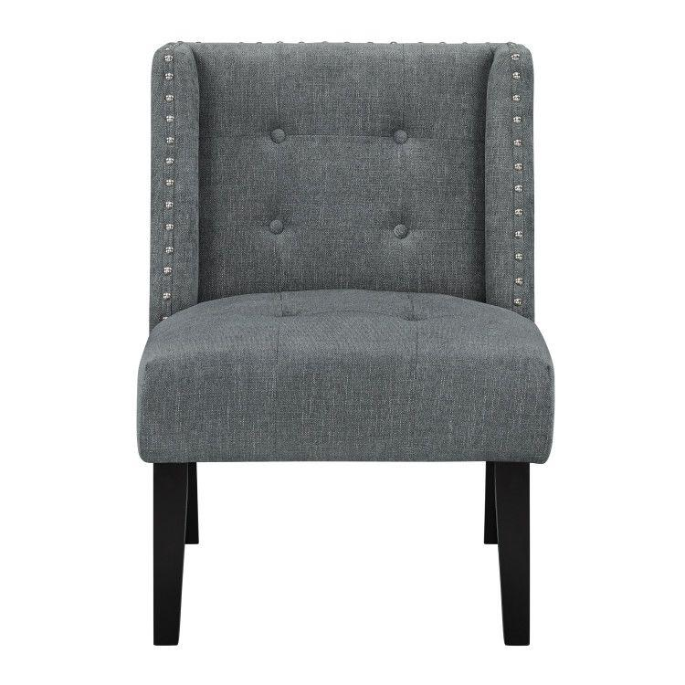 Nora Accent Chair, Grey
