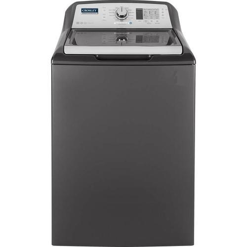 Crosley - Crosley Professional Washer : - Diamond Gray & White