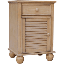 Nantucket River Wash Door Nightstand