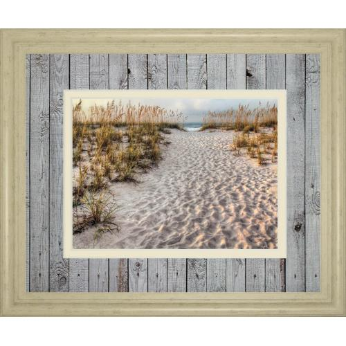 """Path To The Beach"" By Michael Cahill Framed Print Wall Art"