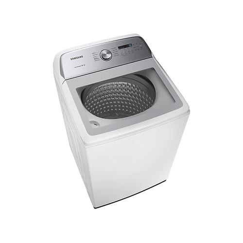 5.0 cu. ft. Top Load Washer with Active Water Jet in White