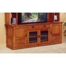 Widescreen TV Console - 85W x 21D x 30H