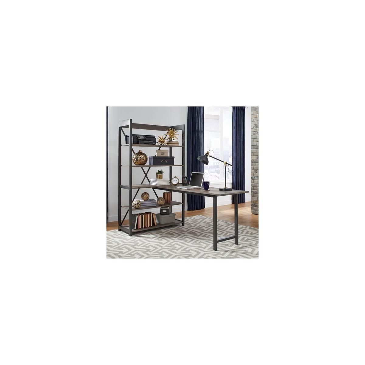 See Details - Desk and Bookcase Set