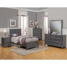 3/3 Twin Headboard & footboard