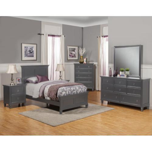 Tamarack Gray Full Bed