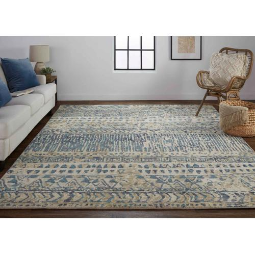 PALOMAR 6591F IN BLUE-BEIGE