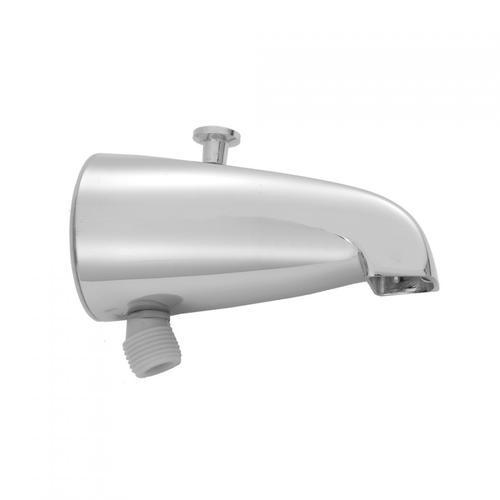 Polished Chrome - Brass Diverter Tub Spout with Handshower Outlet