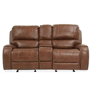 Jenner Manual Motion Glider Recliner Loveseat