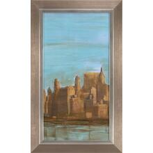 Manhattan Triptych Ii- Embelished Gloss Coat