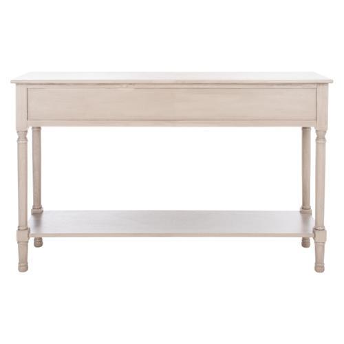 Safavieh - Peyton 3 Drawer Console Table - Greige