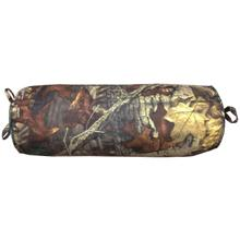 Product Image - Oak Camo Neckroll Pillow, Woodland Brown & Green
