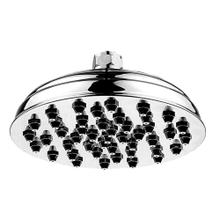 Showerhaus sunflower rainfall showerhead with 45 easy-to-clean spray nozzles. Solid brass construction with adjustable ball joint.