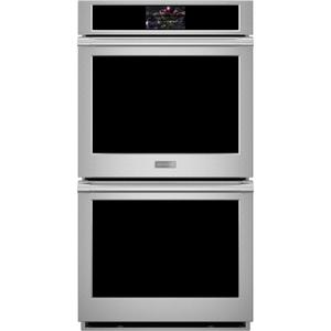 "MonogramMonogram 27"" Smart Electric Convection Double Wall Oven Statement Collection"