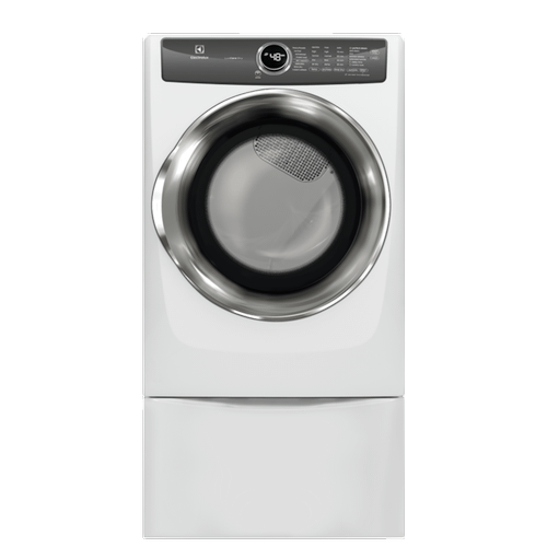 Electrolux - Front Load Perfect Steam™ Electric Dryer with LuxCare® Dry and Instant Refresh - 8.0 Cu. Ft.