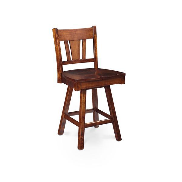 "Sheffield Swivel Barstool, Sheffield Swivel Barstool, 30""h, Fabric Seat"