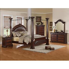 Neo Renaissance King Footboard Post