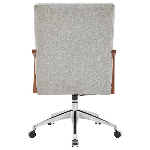Kendrick KD Fabric Office Chair, Boucle Beige