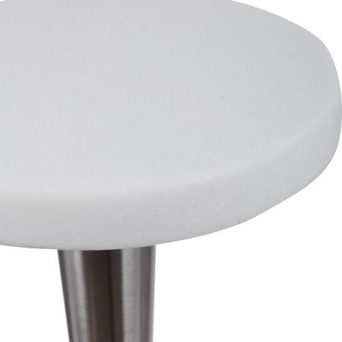 Masika White Drink Table