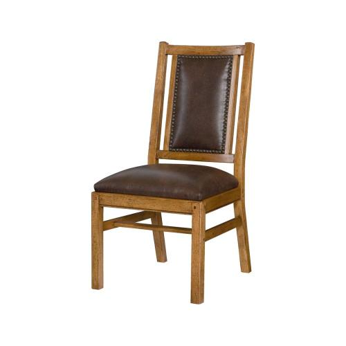 Leather Side Chair-Import
