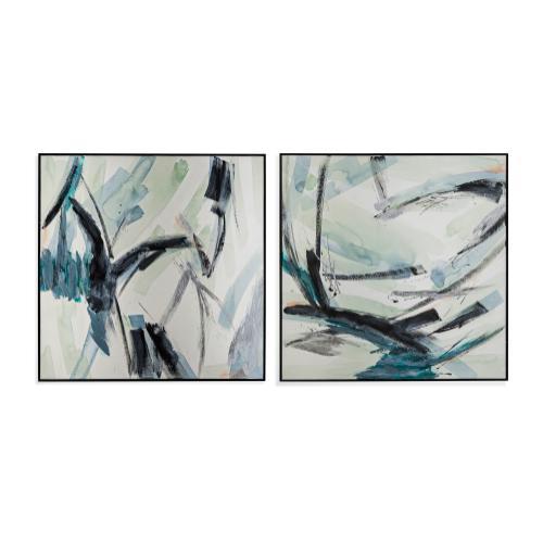 Bassett Mirror Company - Peace Underneath S/2
