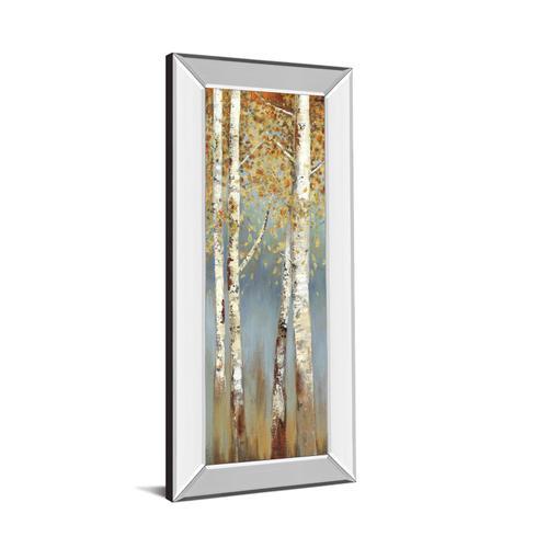 """Butterscotch Birch Trees I"" By Allison Pearce Mirror Framed Print Wall Art"
