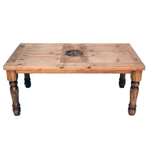 8' Table W/star On Top