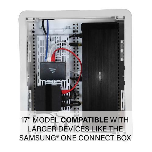 "Sanus - 17"" TV Media In-Wall Box"