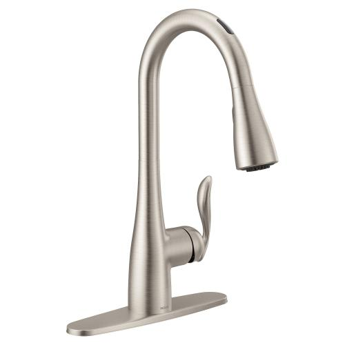 Product Image - U by Moen Smart Faucet™ in Arbor® Spot Resist Stainless