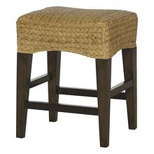 Woven Counter Stool With No Back