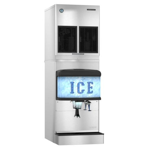 FD-650MRJ-C with URC-5F, Cubelet Icemaker, Remote-cooled