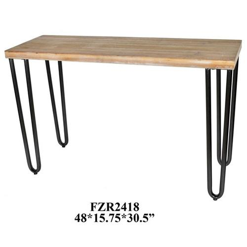 47.75x15.5x30.5 ACCENT TABLE, 1 PC/ 4.04'(50.39x7.48x18.5)
