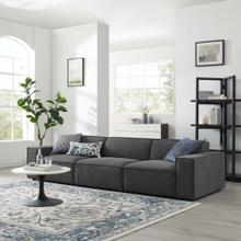 Restore 3-Piece Sectional Sofa in Charcoal