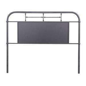 Liberty Furniture Industries - Queen Metal Headboard - Grey