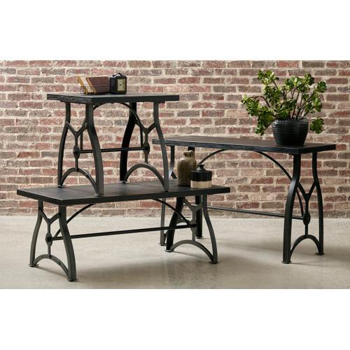 Tiburon Wood & Metal Cocktail Table