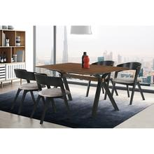 Laredo Jackie 5 Piece Black Dining Set