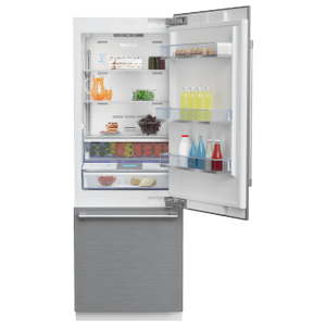 "Beko30"" Freezer Bottom Built-In Refrigerator with Auto Ice Maker and Internal Water Dispenser"