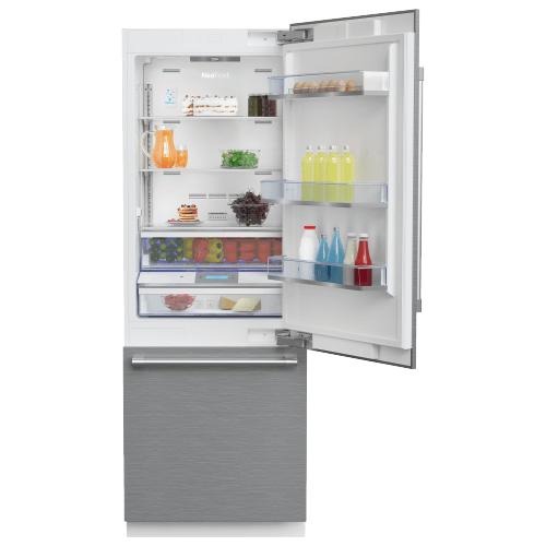 "Beko - 30"" Freezer Bottom Built-In Refrigerator with Auto Ice Maker and Internal Water Dispenser"