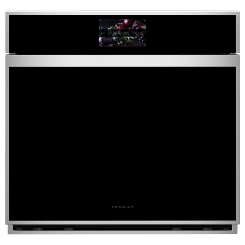 """Monogram 30"""" Smart Electric Convection Single Wall Oven Minimalist Collection"""