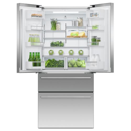 """Fisher & Paykel - Freestanding French Door Refrigerator Freezer, 32"""", 16.9 cu ft, Ice & Water"""