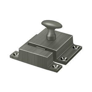 "Deltana - Cabinet Lock, 1-5/8"" x 2-1/4"" - Antique Nickel"