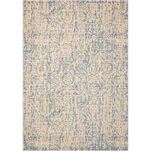 Nepal Nep11 Ivblu Rectangle Rug 5'3'' X 7'5''