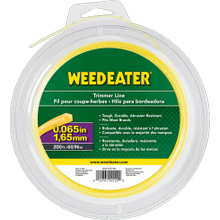 """View Product - Weed Eater Trimmer Lines .065"""" x 200' Shaped Trimmer Line"""